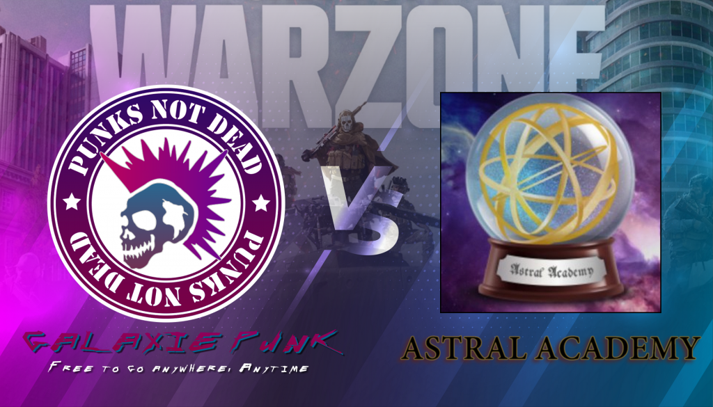 GALAXIE PUNK vs ASTRAL ACADEMY – Match d'Exhibition Call Of Duty (WARZONE / MULTI)